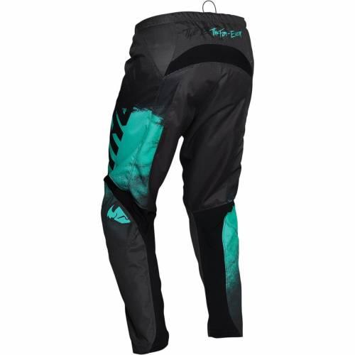 Pantaloni Enduro - Cross THOR SECTOR VAPOR · Verde / Negru