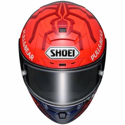 Cască Moto Integrală SHOEI X-SPIRIT III MARQUEZ 6 TC-1 · Alb / Albastru / Roșu