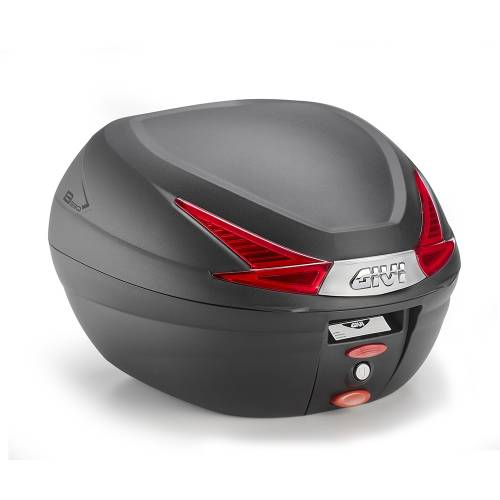 Cutie / Topcase Moto GIVI MONOLOCK B330 33L  · Negru / Roșu