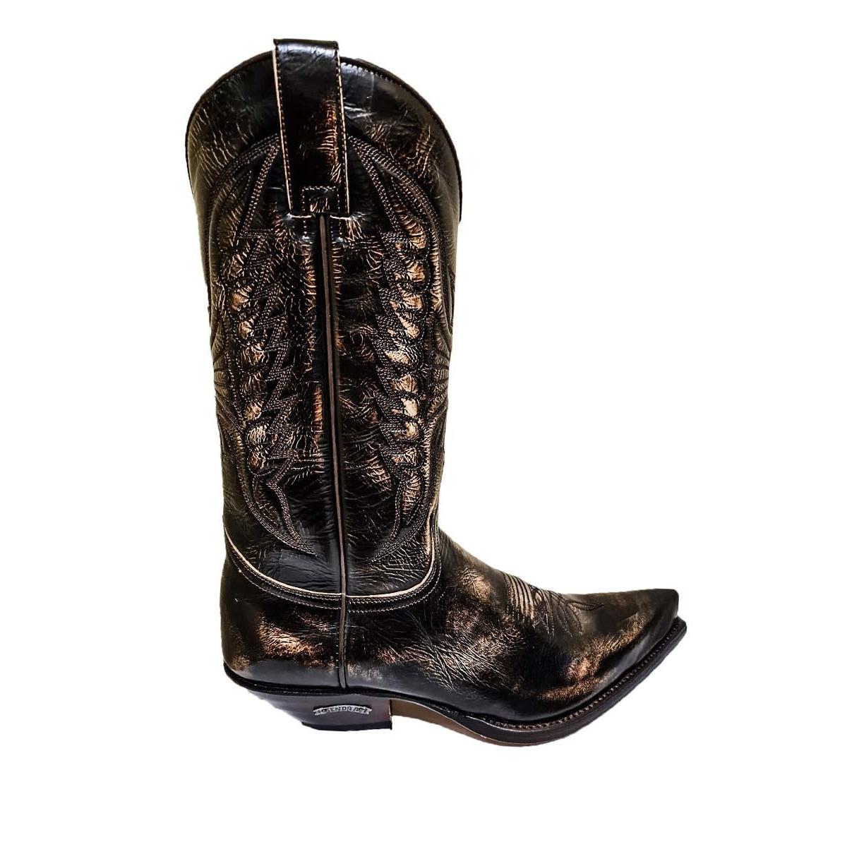 Cizme Cowboy SENDRA BOOTS 2073 Denver Canela