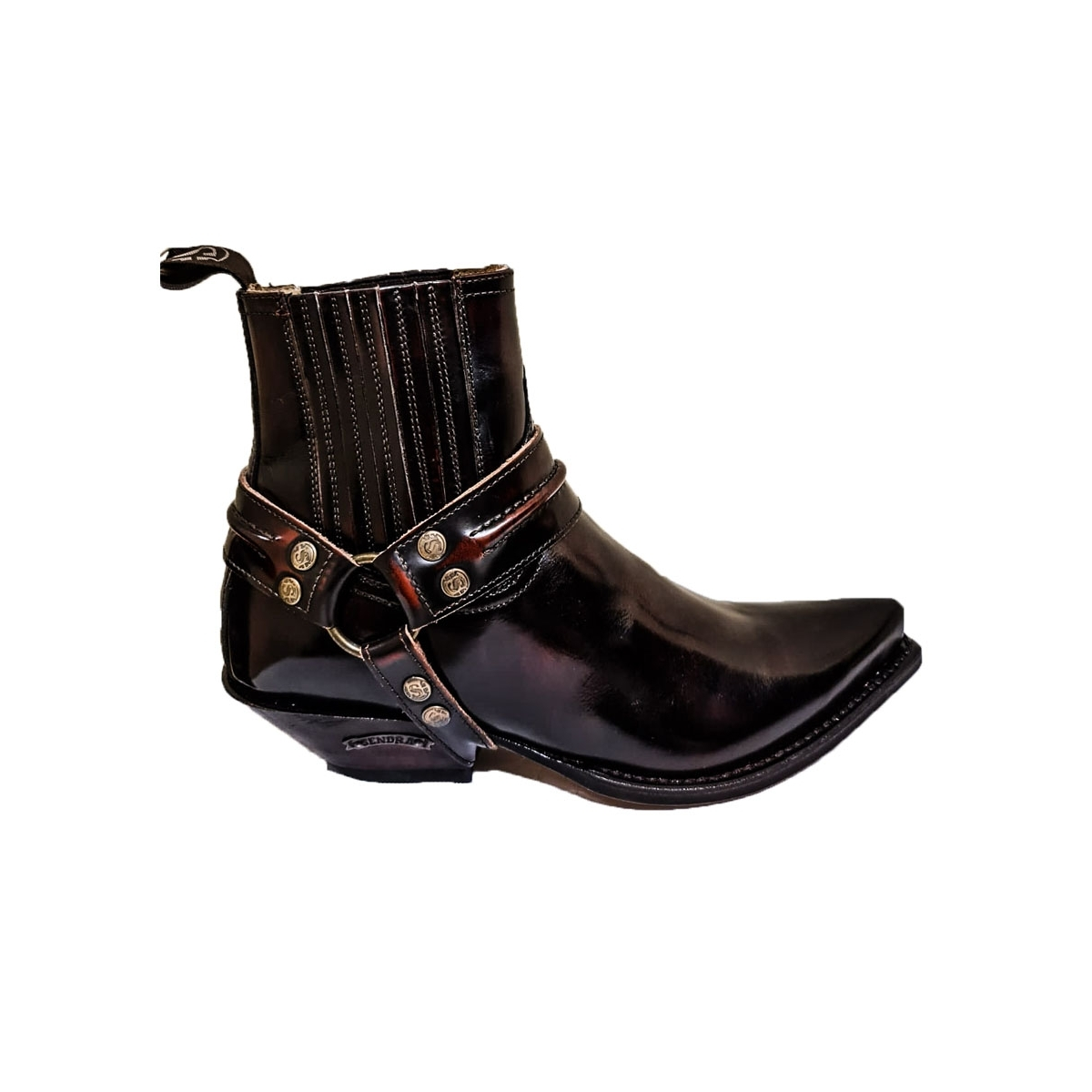 Botine Cowboy Dama SENDRA BOOTS 2746 Fuchsia