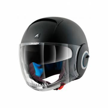 Cască Moto Open Face SHARK NANO BLANK