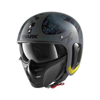 Cască Moto Open Face SHARK S-DRAK 2 TRIPP IN