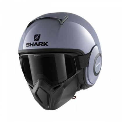 Cască Moto Open Face SHARK STREET DRAK BLANK