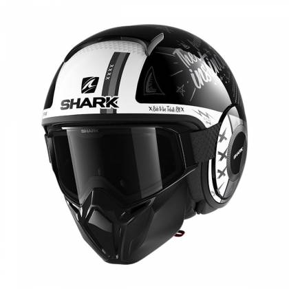 Cască Moto Open Face SHARK STREET DRAK TRIBUTE