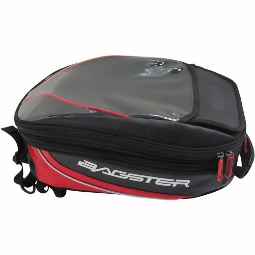 Geantă Moto pentru Rezervor BAGSTER ROADER · Negru / Roșu