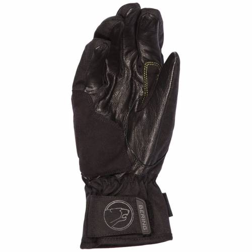 Mănuși Moto din Piele & Textil BERING SPHYNX · Negru