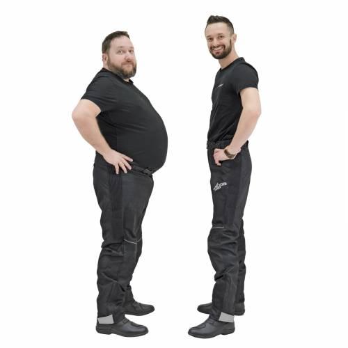 Pantaloni Moto din Textil SPEED UP ENTER · Negru