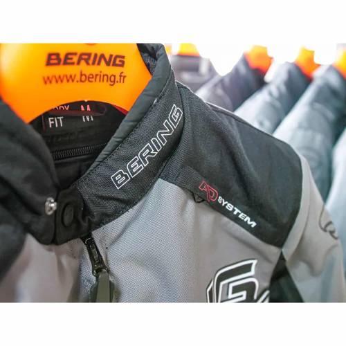 Geacă Moto din Textil BERING BARIO · Gri / Negru