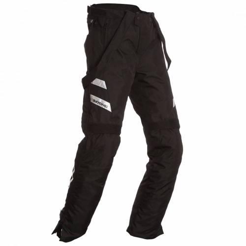 Pantaloni Moto din Textil BERING CARSON · Negru