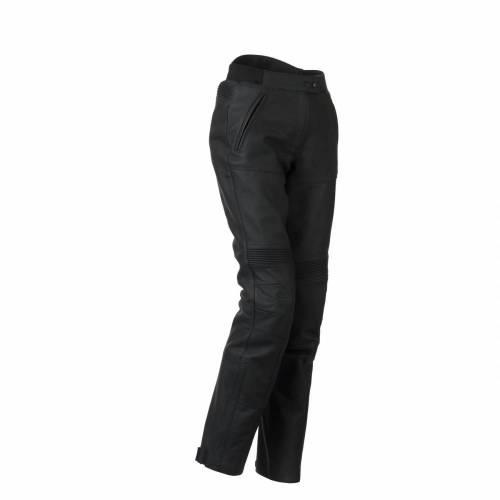 Pantaloni Moto Damă din Piele BERING LADY SERUM · Negru