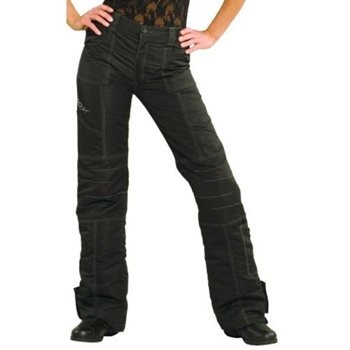 Pantaloni Moto Damă din Textil SHOX TAMARA · Negru