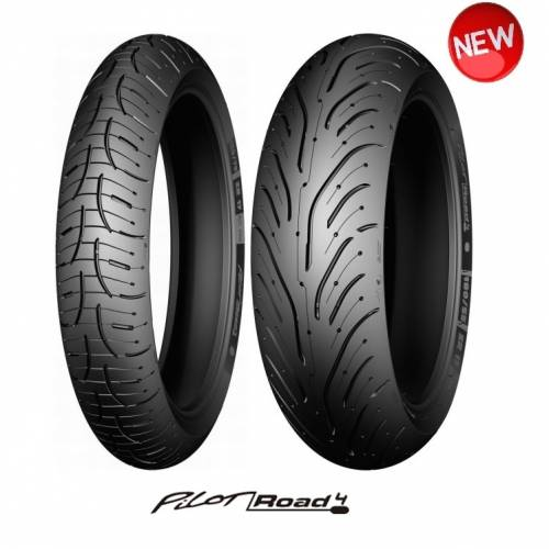 Set Anvelope Michelin Pilot Road4  120/70-17 si 180/55-17