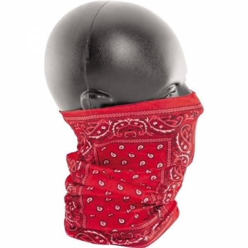 Eșarfă Moto ZanHeadgear Motley Tube Red · Roșu / Negru