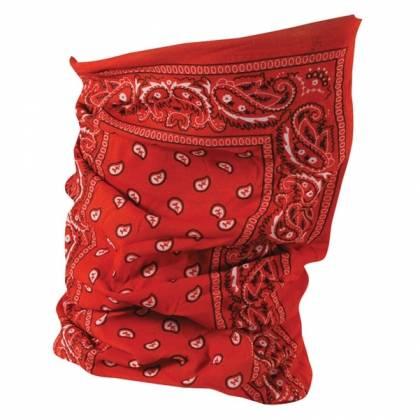 Eșarfă Moto ZanHeadgear Motley Tube Red