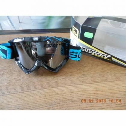 Ochelari SCOTT FMX 89XI ACS - albastru/negru