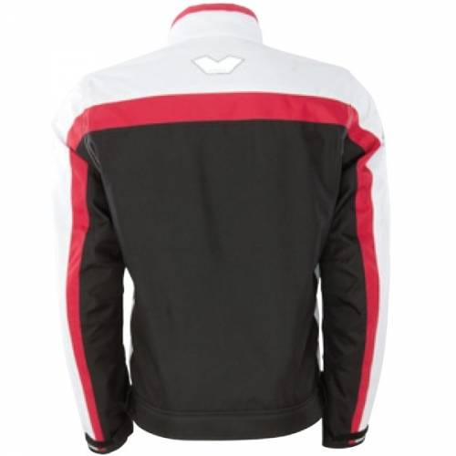 Geacă Moto din Textil BERING DINK · Negru / Alb / Roz