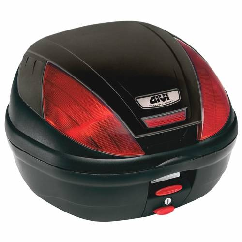 Cutie / Topcase Moto GIVI E370N MONOKEY · Negru / Roșu