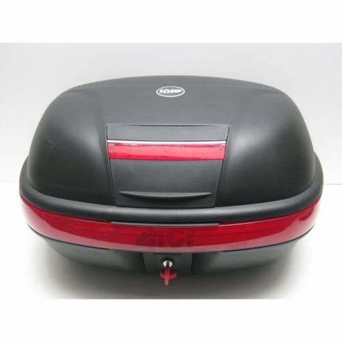Cutie / Topcase Moto GIVI E460N · Negru / Roșu