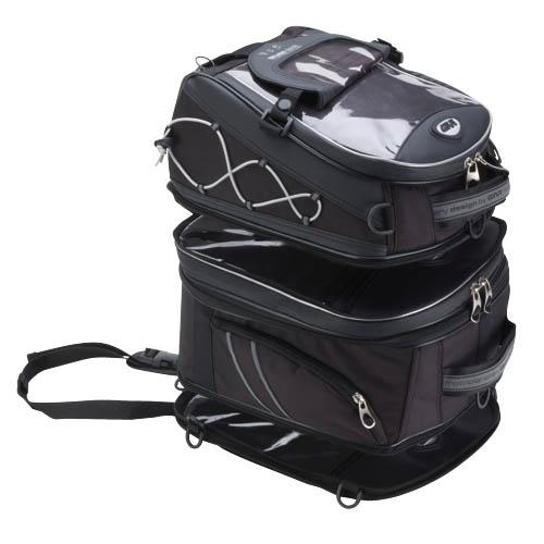 Geantă Moto pentru Rezervor GIVI T478  · Negru / Gri