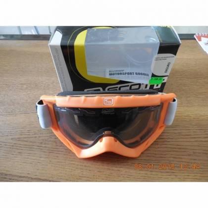 Ochelari SCOTT 89XI ENDURO - portocaliu-fluo