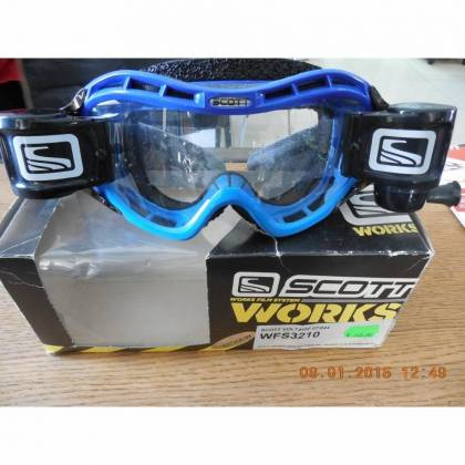 Ochelari SCOTT VOLTAGE MX WFS - albastru/negru