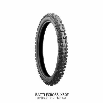 Anvelope Bridgestone X30R MED 80/100-21 51M TT NHS