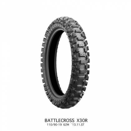 Anvelope Bridgestone X30R MED 120/80-19 63M TT NHS