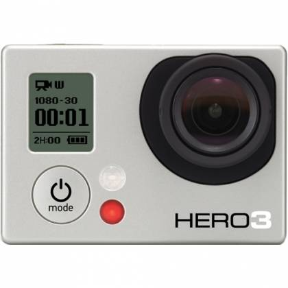 Cameră Video Sport GoPro FullHD Hero 3, Silver Edition