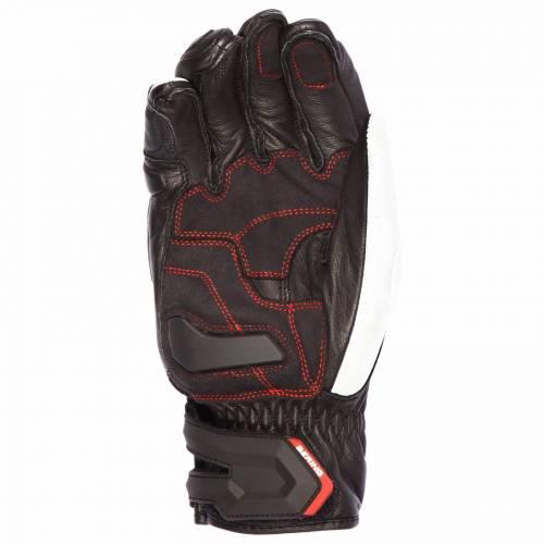 Mănuși Moto din Piele BERING SYRIO · Negru / Alb / Roșu