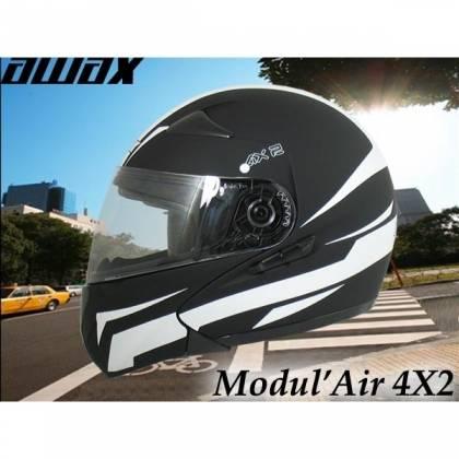 Cască Moto Flip-Up AWAX ELITE Double Ecran