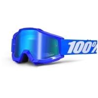 Ochelari 100% ACCURI Mirror Blue - albastru/alb
