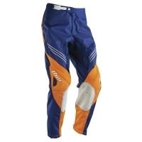 Pantaloni THOR S6 PHASE HYPER - orange/albastru