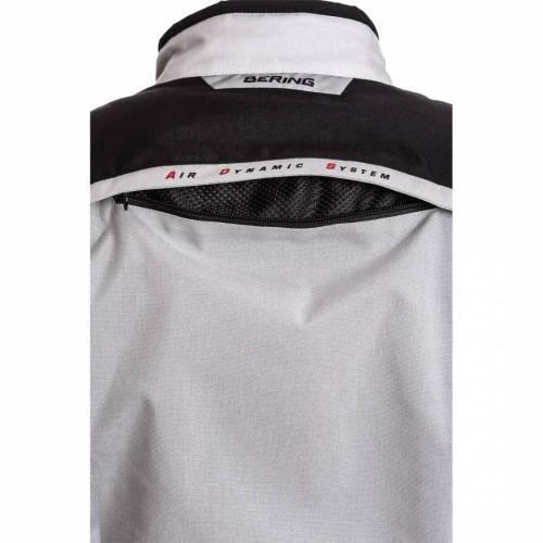 Geacă Moto din Textil BERING SHIELD · Negru / Gri