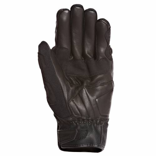 Mănuși Moto din Piele & Textil BERING ZORBA · Negru
