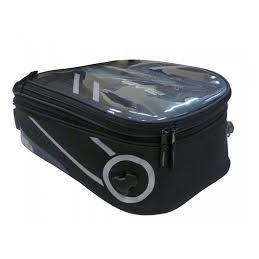 Geantă Moto pentru Rezervor cu Magnet BAGSTER GRAVITY · Negru / Gri