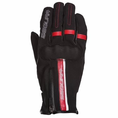 Mănuși Moto din Textil SEGURA HARDING · Negru / Roșu