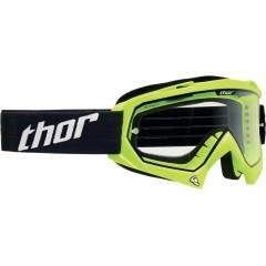 Ochelari Enduro - Cross THOR S13 ENEMY · Verde-Fluo