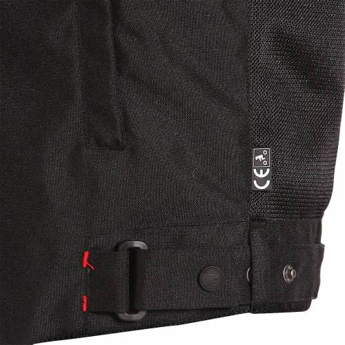 Geacă Moto din Textil BERING FLORIDA · Negru / Roșu