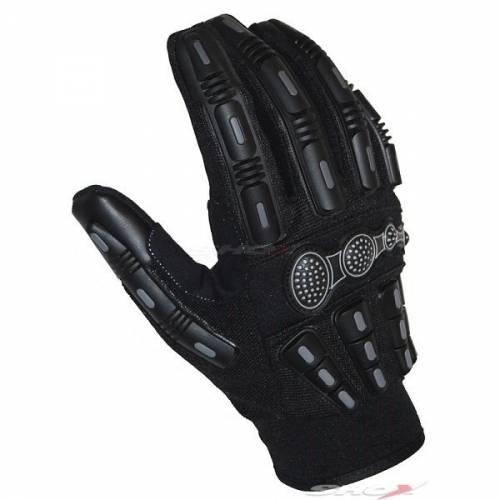 Mănuși Moto din Textil SIXGEAR WARLOCK · Negru