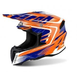Cască Enduro - Cross AIROH TWIST MIX ORANGE