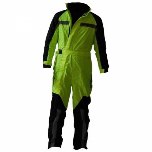 Combinezon Moto SIXGEAR HIGHLIGHT · Negru / Verde-Fluo