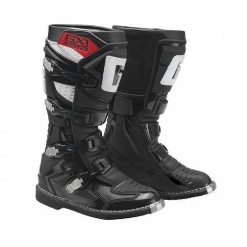 Cizme Moto din Piele & Textil GAERNE GX1 GOODYEAR · Negru