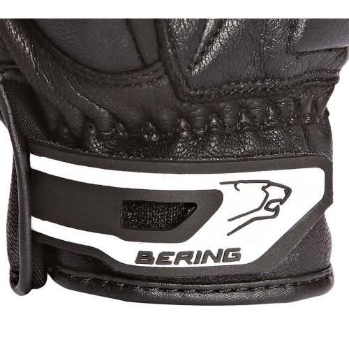 Mănuși Moto Damă din Piele BERING LADY FEVER · Negru