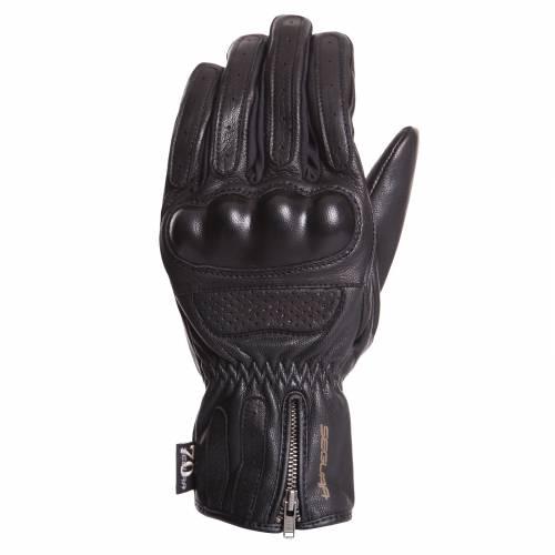 Mănuși Moto din Piele SEGURA JUSTICE · Negru