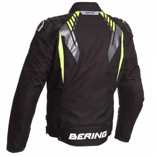Geacă Moto din Textil BERING PRIMO-R · Fluo-Verde / Negru
