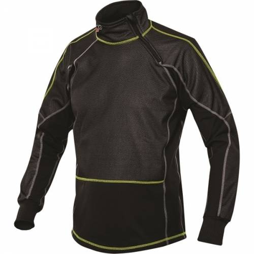 Tricou Termo Enduro - Cross  SPEED UP BALANCE · Negru / Verde-Fluo