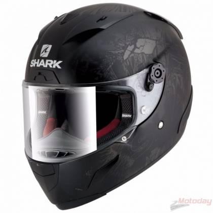 Cască Moto Integrală SHARK RACE-R PRO LORENZO MONSTER · Negru / Alb / Verde / Roșu