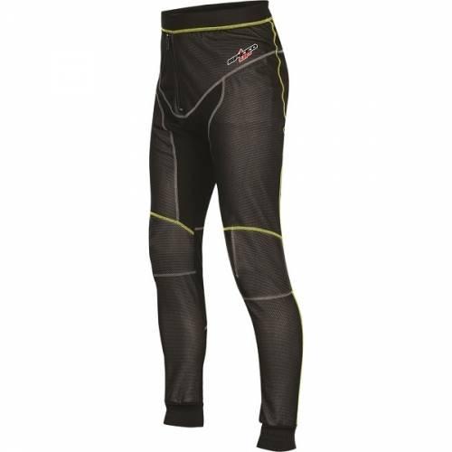 Pantaloni Termo  Enduro - Cross SPEED UP BALANCE · Negru / Verde-Fluo