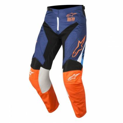 Pantaloni ALPINESTARS  Racer Supermatic Blue/Orange/Aqua S8